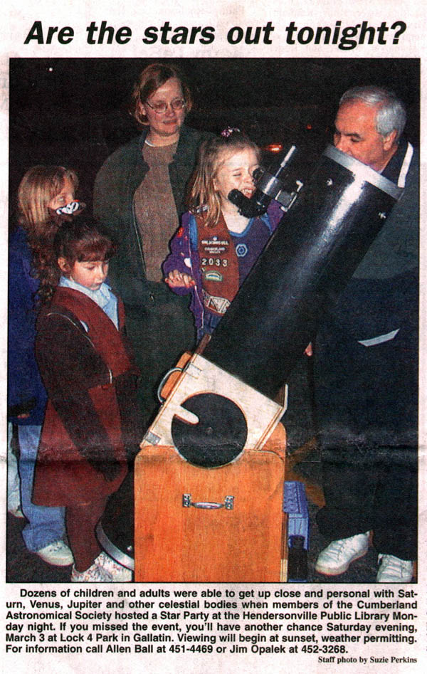 Star party photo